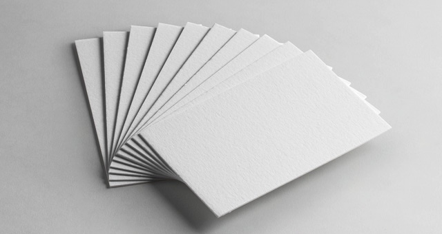 Stack of Business Cards Mockup 3