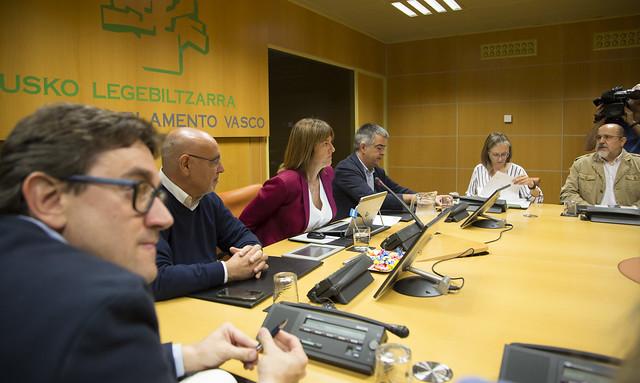 Reunión del Grupo Parlamentario PSE-EE