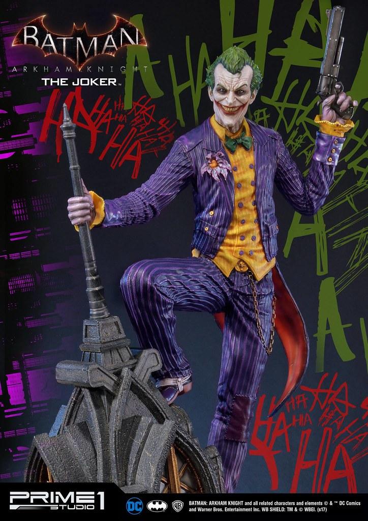 完美展現出那純粹的瘋狂! Prime 1 Studio 蝙蝠俠:阿卡漢騎士【小丑】Batman: Arkham Knight The Joker MMDC-27EX 1/3 比例全身雕像作品