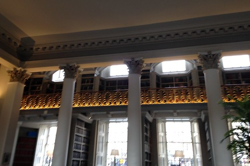 Colonnades at the Signet Library