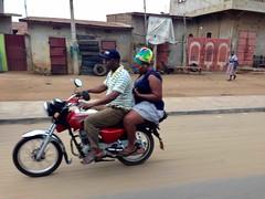 Motorcycling in Quedo, Atlantique Department, Benin, #JujuFilms