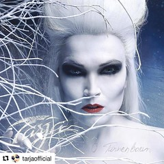 "@timtronckoe photo #mijasnatural MUA & Hair @tarjaofficial ☛ ""This Christmas you can expect the unexpected! And with the second single from my upcoming winter album you can dream of a very special version of the German Christmas classic ""O Tannenbaum"". I"