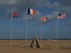"Ouistreham, Normandy - ""Sword"" beach and battlefield on D-Day, 1944.   Lest we forget"