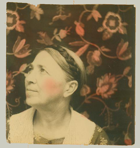 Photobooth woman