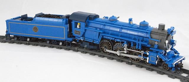 LEGO Train TheBlue Comet