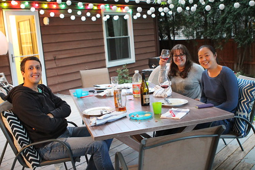 Dinner on the Deck with Debbie and Michele