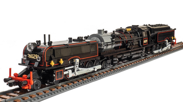 New South Wales Ad60 Class Lego Locomotive The Brothers