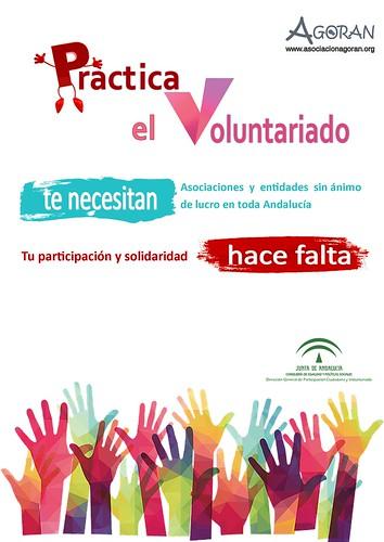 Cartel jornada de voluntariado Agoran