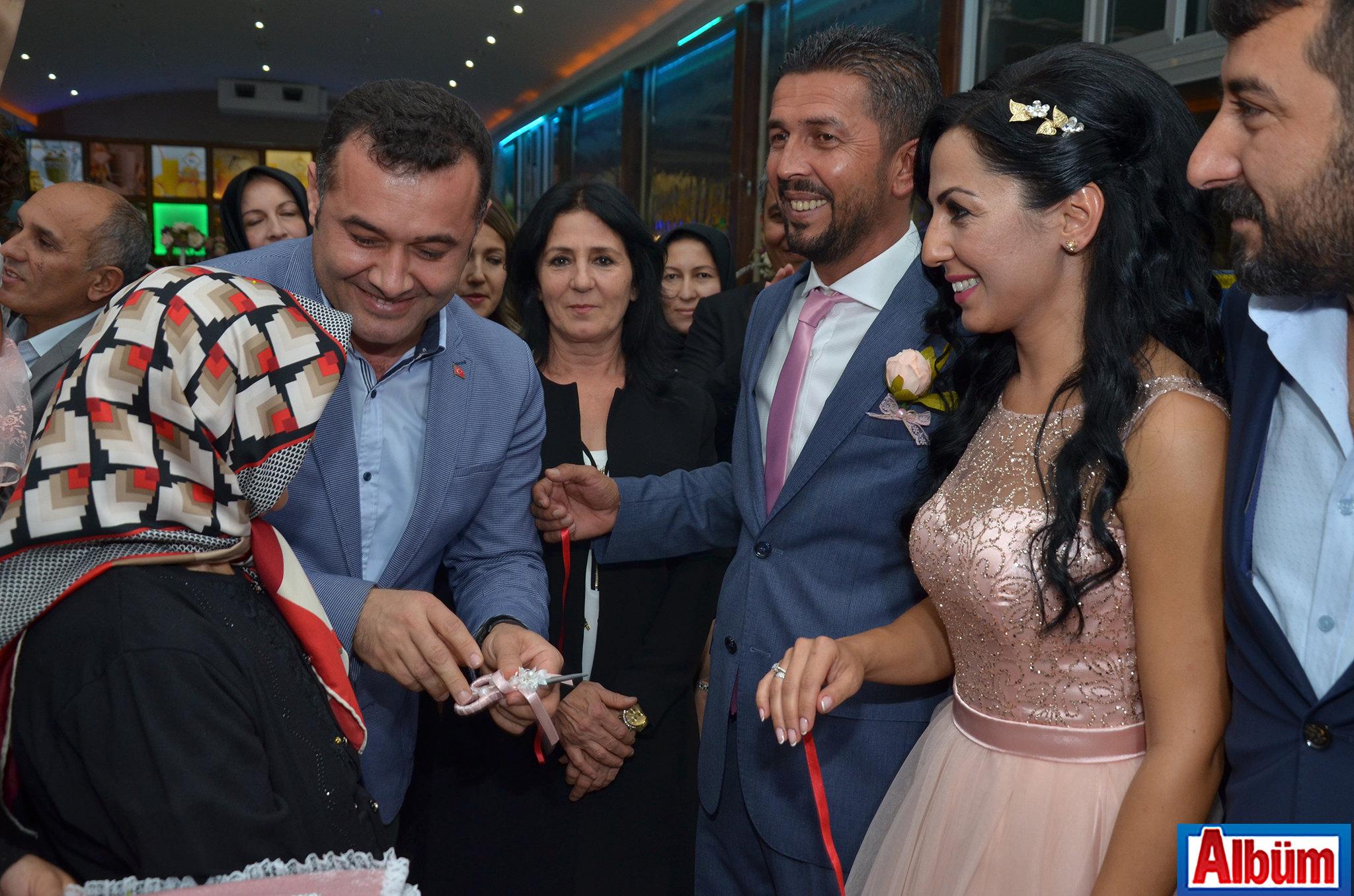 Fatma Deke-Alanya Belediye Başkanı Adem Murat Yücel-Hasan Deke-Esengül Duran