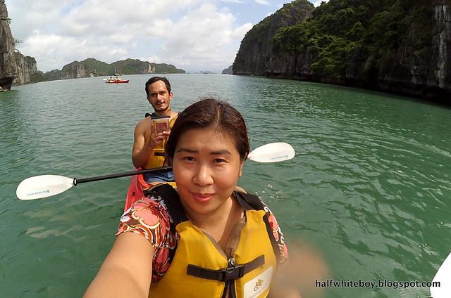 halfwhiteboy - halong bay cruise 58