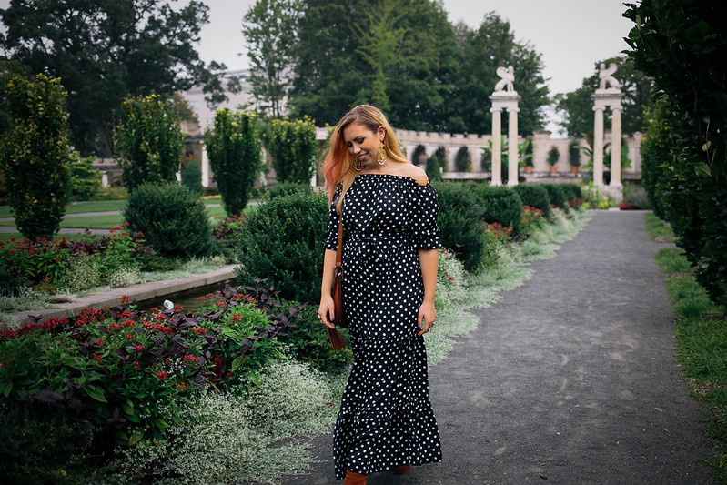 Amazon Polka Dot Maxi Dress Untermyer Gardens Yonkers NY When Did Amazon Start Selling the Best Clothes?