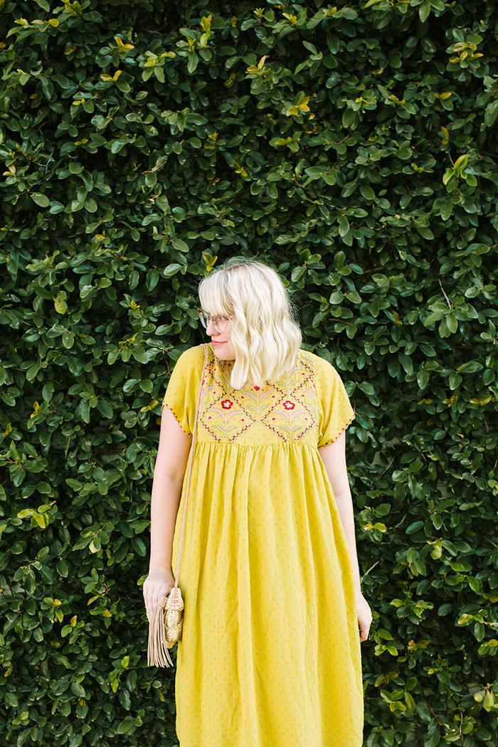 austin fashion blogger writes like a girl yellow zara dress3