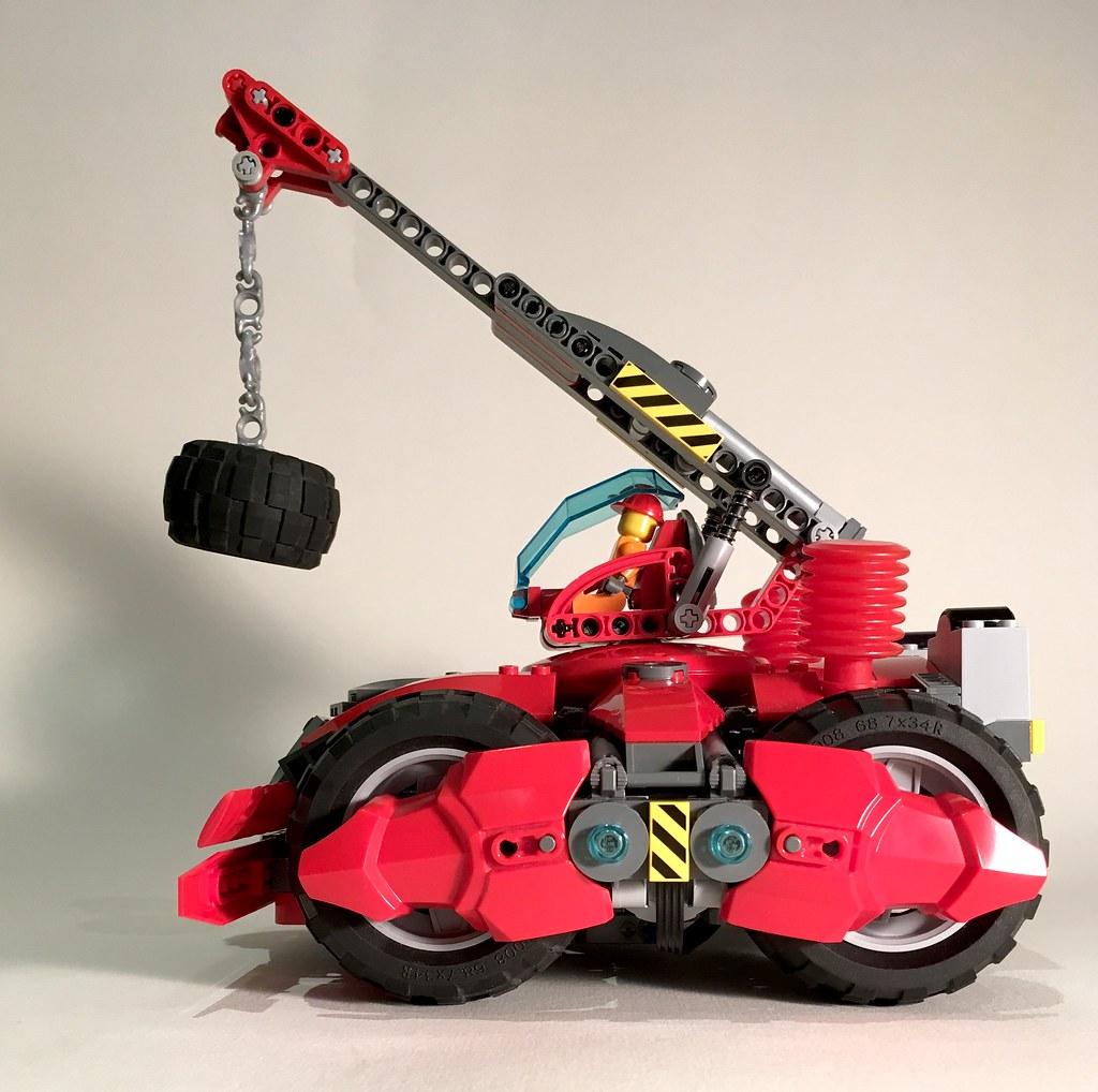 The Crimson Demolition-Mobile