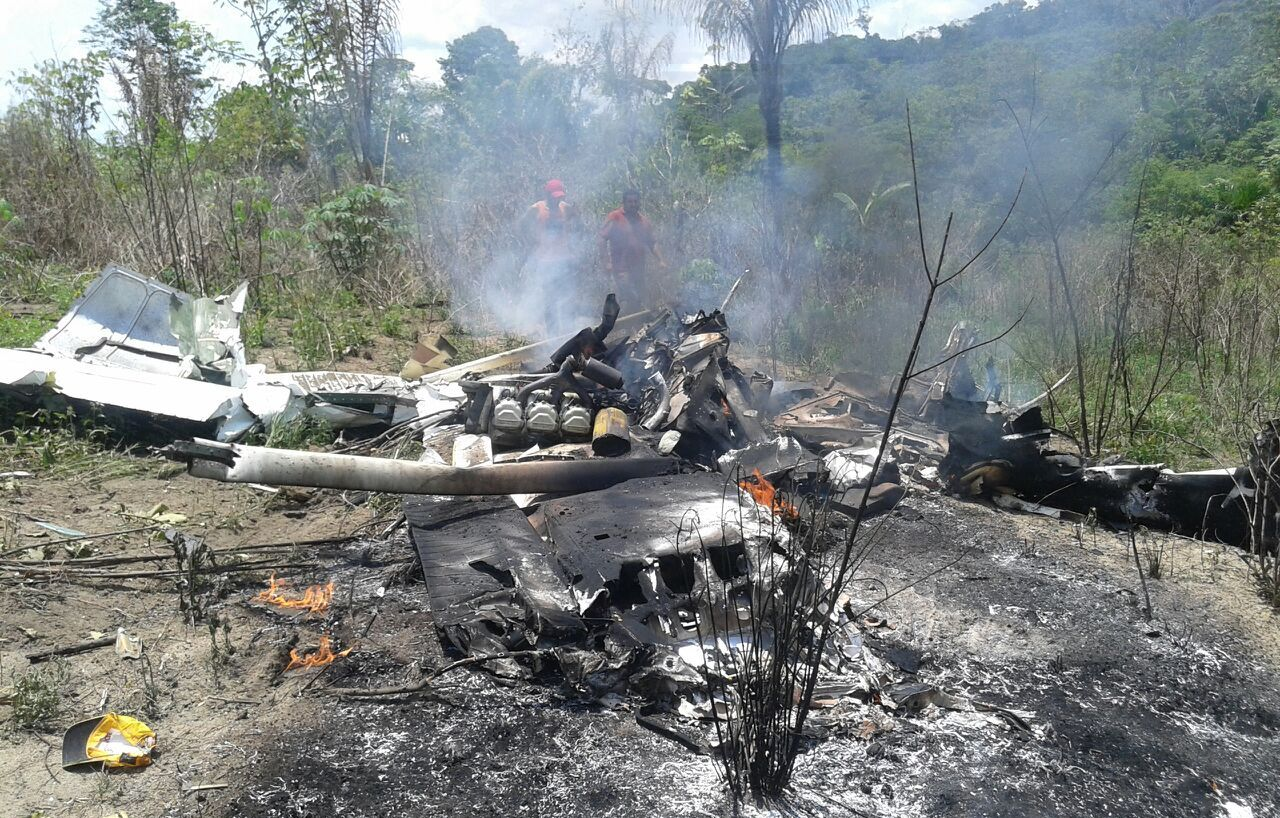 Piloto morre em queda de avião monomotor em garimpo de Itaituba, Monotor cai em Itaituba