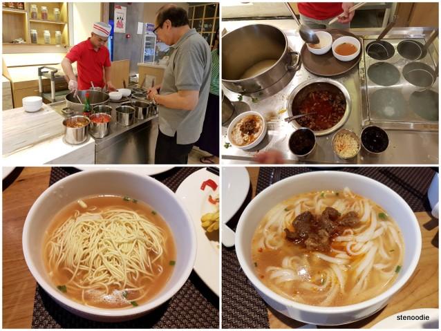 Yuantong Hotel noodle station