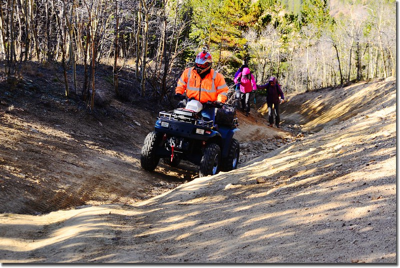 ATV on the trail (9)