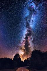 Milky way Rajac, Serbia