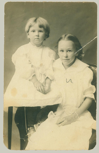 RPPC Two Girls