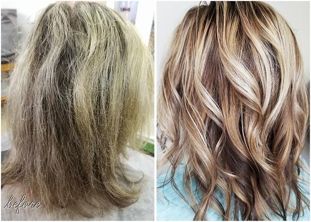 Couleur pour cheveux tres fins