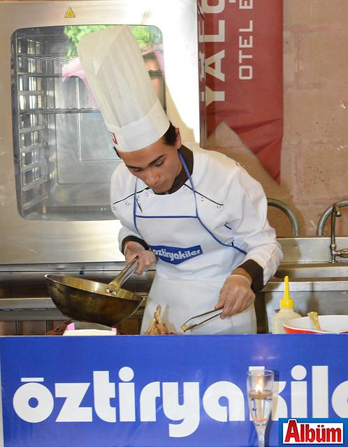 6. Alanya Belediyesi ve Altın Kepçe Uluslararası Yemek Yarışması başladı-6