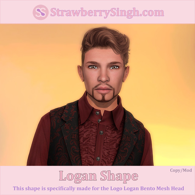 StrawberrySingh.com Logan Shape
