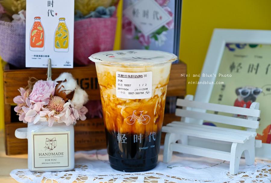 一中街美食小吃黑糖珍珠鮮奶茶09
