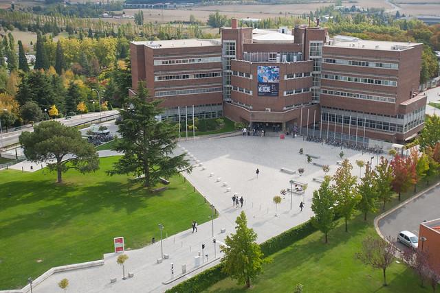 Recorriendo el campus