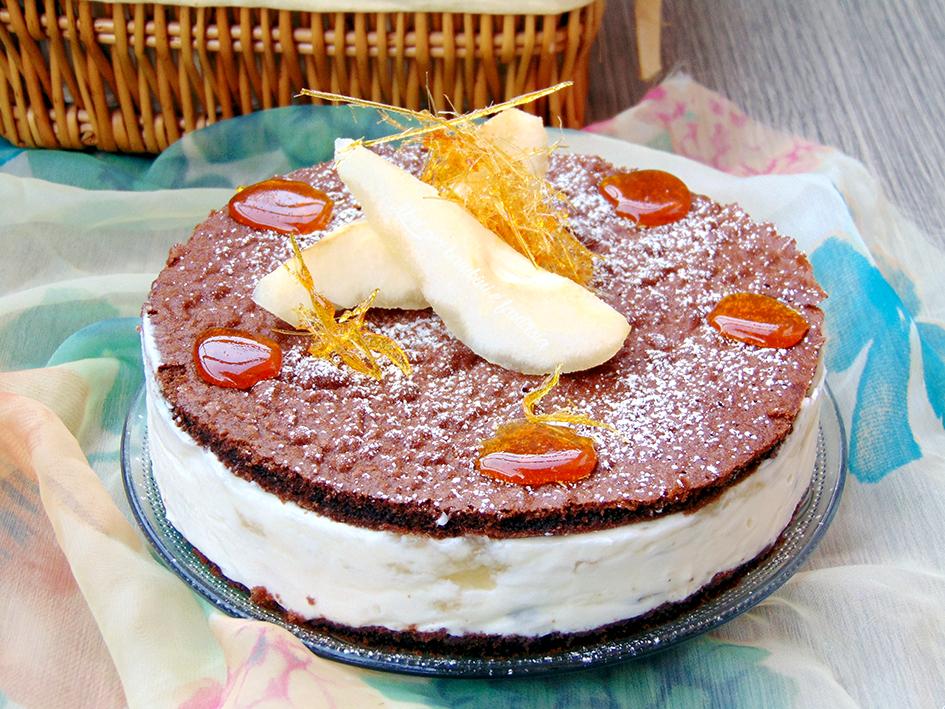 torta ricotta e pere 5
