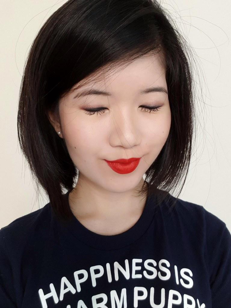 3ina matte lipstick 403 + tutorial
