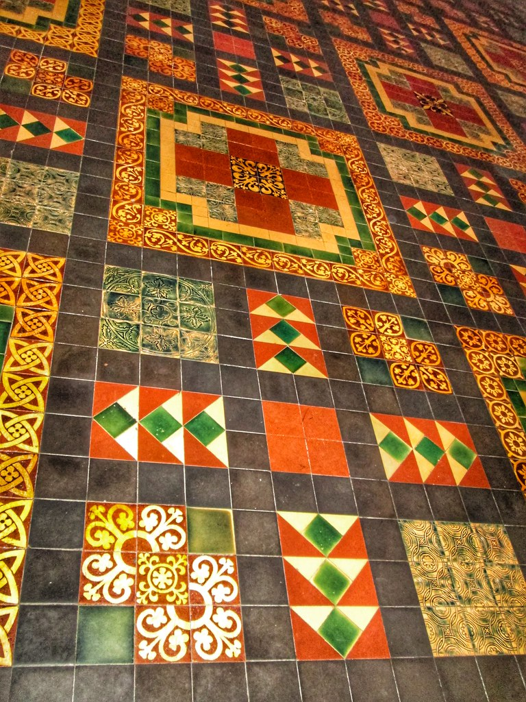 St Patricks Cathedral Dublin Tile Floor