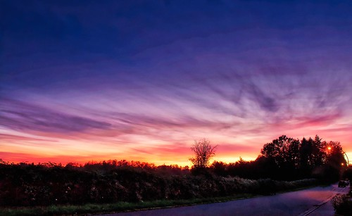 landscape outdoor nature dusk pastsundown sky cloud colours aldergrove onourstreet