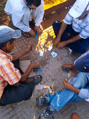 Some kind of Street Poker I think ♂️ Togetherness High Angle View Men Adult Sitting Friendship Cooperation Bonding Lifestyles Teamwork Playing Competition Streetphotography Challenge Competing Killing Time People On The Road In The Park Street Activity S