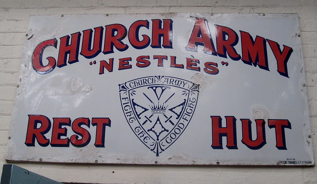 Church Army Sign