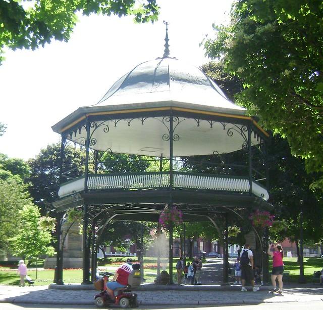 Saint John, NB  - King's Square Fountain
