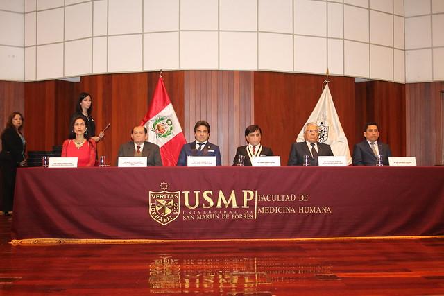 La Facultad de Medicina Humana de la USMP realizó la III Edición  de reconocimiento a las mejores publicaciones y trabajos de Investigación del 2017