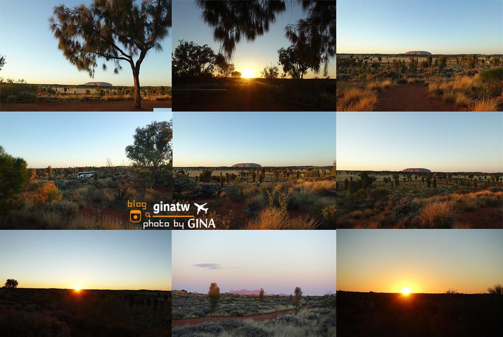 【烏魯魯景點】Uluru艾爾斯岩|日出原野燈光展之旅|我在世界中心,好美好冷! @GINA環球旅行生活|不會韓文也可以去韓國 🇹🇼
