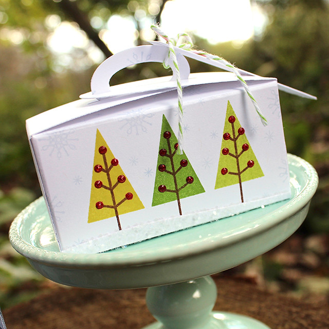 Christmas Tree Truffle Tote