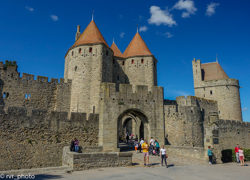 Porte Narbonnaise, Carcassonne, Francia