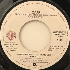 ZAPP:MORE BOUNCE TO THE OUNCE(LABEL SIDE-B)