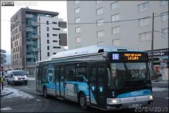 Irisbus Agora S GNV - Sémitag (Société d'Économie MIxte des Transports publics de l'Agglomération Grenobloise) / TAG (Transports de l'Agglomération Grenobloise) n°3056