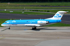 Fokker jets and Turboprops