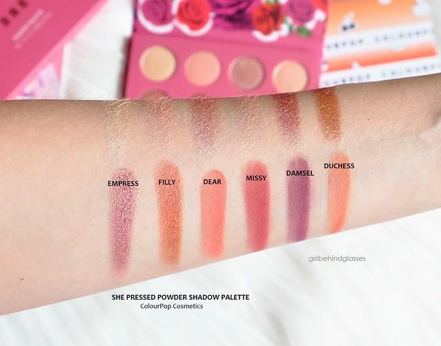ColourPop Shr Pressed Powder Shadow Palette swatches2