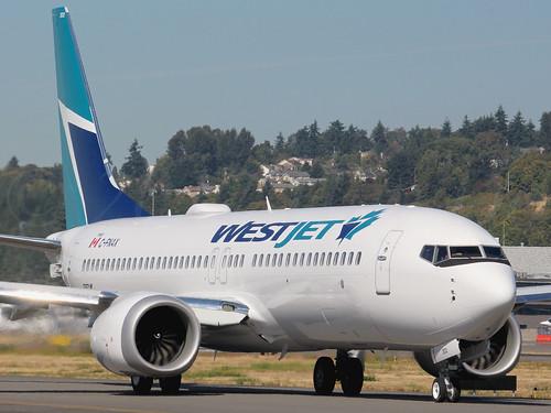 Boeing 737 MAX 8 WestJet C-FNAX LN6499