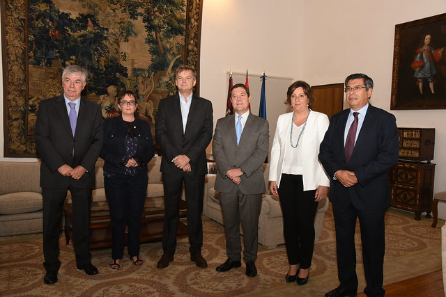 Visita del director de operaciones de Amazon para España e Italia