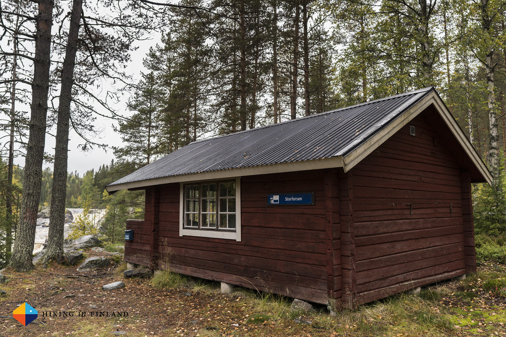 Storforsen Hut