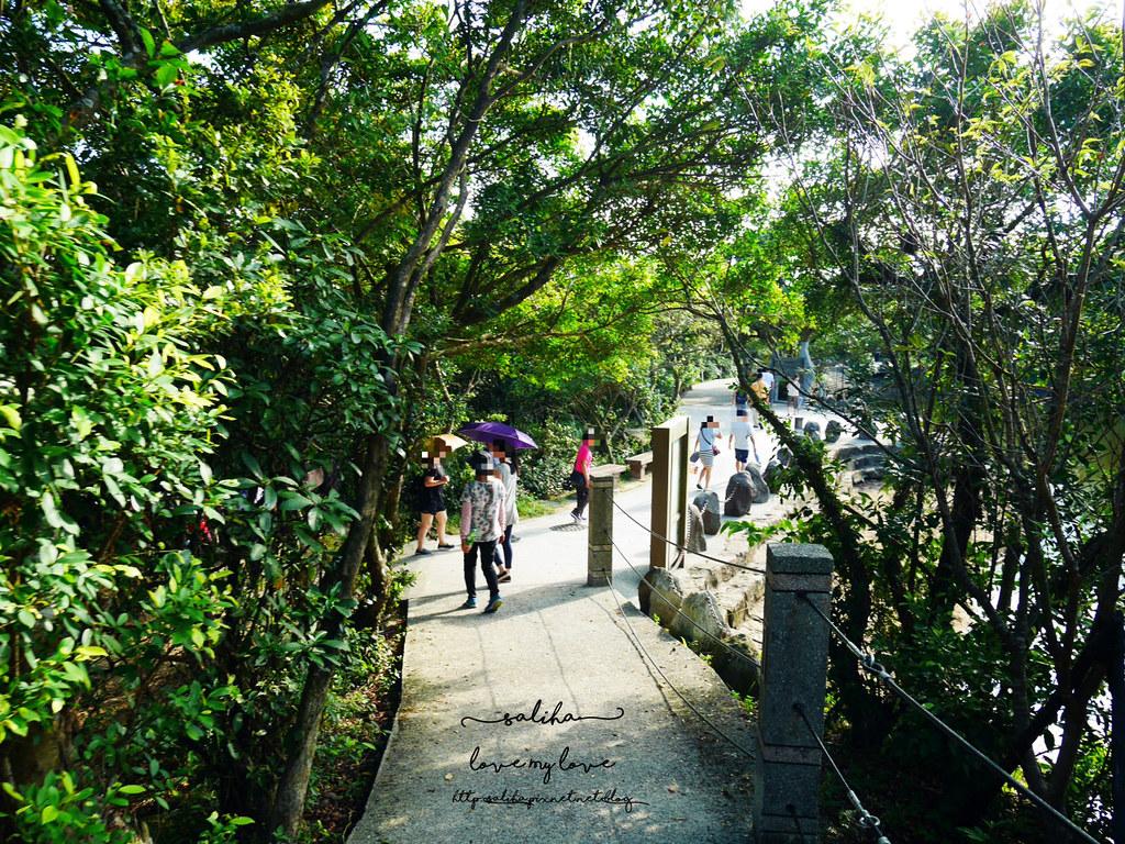 基隆一日遊免費景點推薦情人湖公園