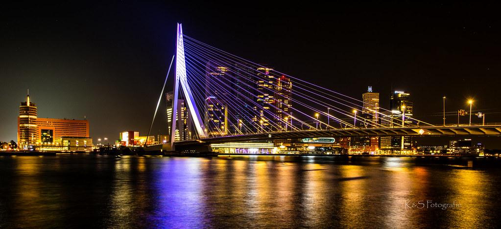 Rotterdam by night   Eigentlich haben wir den Trip nach