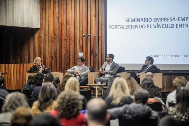 Seminario Empresa-Emprendedor: Fortaleciendo el vínculo entre ambos mundos