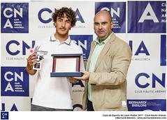 Pep Cazador, del CNA, se hace con la Copa de España de Laser Radial en la categoría sub17
