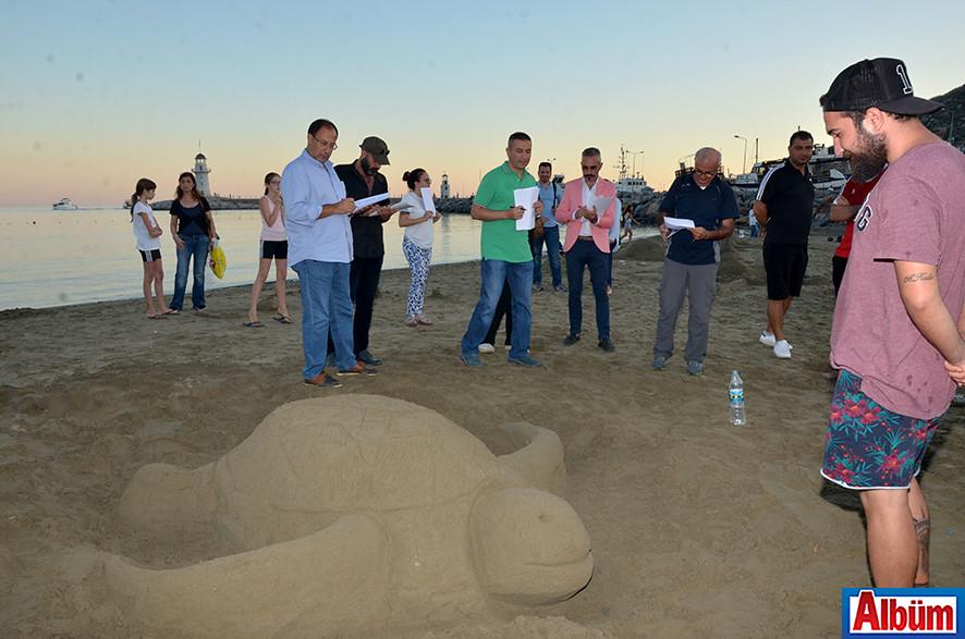 'Kumdan Heykel Yarışması' -2